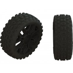 Arrma AR550057 Kolo s pneu 2HO černá (2)