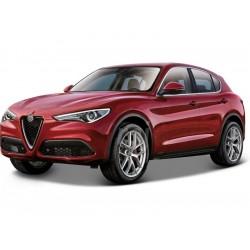 Bburago Alfa Romeo Stelvio 1:24 červená