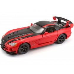 Bburago Dodge Viper SRT 10 ACR 1:24 červená