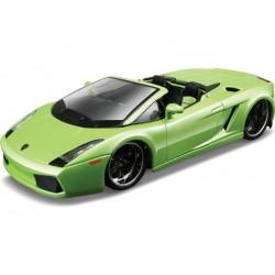 Bburago Plus Lamborghini Gallardo Spyder 1:32 zelená