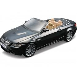 Bburago Plus BMW M3 Cabriolet 1:32 černá