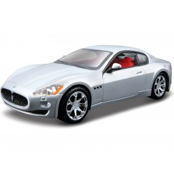 Bburago Plus Maserati GranTurismo 2008 1:32 stříbrná
