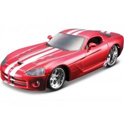 Bburago Plus Dodge Viper SRT 10 1:32 červená metalíza
