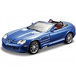 Bburago Plus Mercedes Benz SLR Mclaren Roadster 1:32 modrá