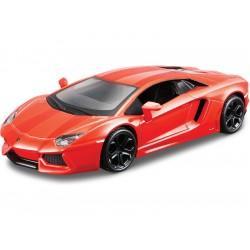 Bburago Plus Lamborghini Aventador Coupe 1:32 oranžová