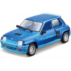 Bburago Renault 5 Turbo 1:32 modrá
