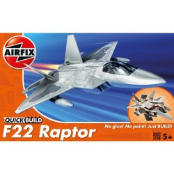 Airfix Quick Build Lockheed Martin Raptor