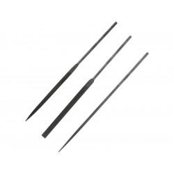 Modelcraft precizní jehlové pilníky 160mm (sada 3ks)