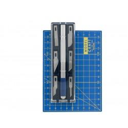 Modelcraft řezací nůž s podložkou A6