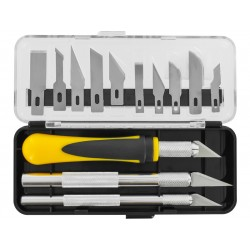 Modelcraft sada 3 nožů s 13 čepelemi