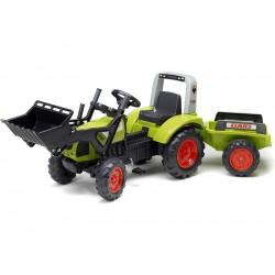 FALK - Šlapací traktor Claas Arion 430 s nakladačem a...