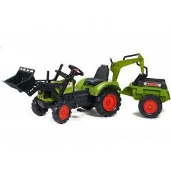 FALK - Šlapací traktor FALK 2070 Claas Arion 430 s...
