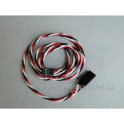 Kabel prodlužovací Futaba silikon 1000mm