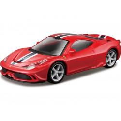 Bburago Kit Ferrari 458 Speciale 1:43 červená