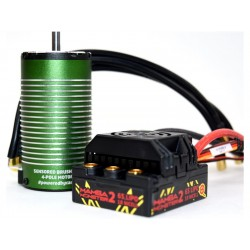 Castle motor 1512 2650ot/V senzored, reg. Mamba Monster 2