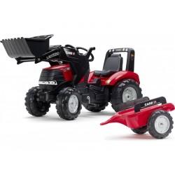 FALK - Šlapací traktor Case IH Puma 240CVX s nakladačem a...