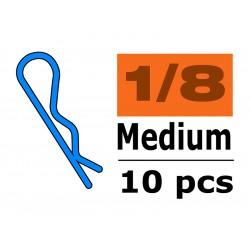 Sponka karosérie střední 45° černá (10)