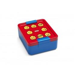 LEGO box na svačinu 170x135x69mm - Iconic modrý