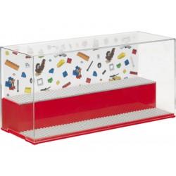 LEGO herní a sběratelská skříňka - Iconic červená
