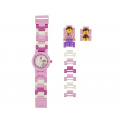 LEGO hodinky - Classic Pink