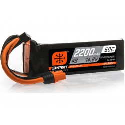 Spektrum Smart LiPo 14.8V 2200mAh 50C IC3