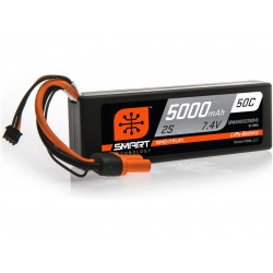 Spektrum Smart LiPo Car 7.4V 5000mAh 50C IC3