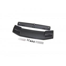 Traxxas Roof visor/ visor retainer/ visor lens (2)