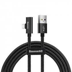 Audio Data kabel USB-Lightning 2A 1m (černý) (CALYD-01)