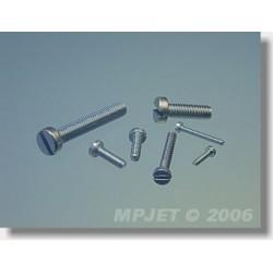 0222 Šroub s válcovou hlavou M2,5x12 10 ks