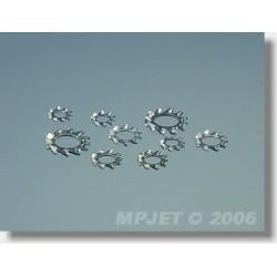 0713 Vějířová podložka 4,3mm 20ks