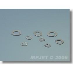 0720 Pružná podložka 2,1mm 20 ks