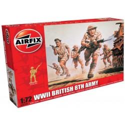 Airfix figurky - WWII britská 8. armáda (1:72)
