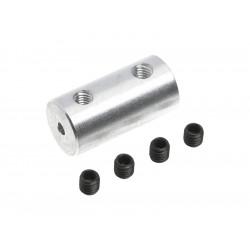 Spojka hřídelí 2.0/2.0mm, prům. 9mm