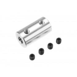 Spojka hřídelí 4.0/4.0mm, prům. 10mm