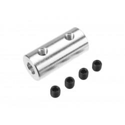 Spojka hřídelí 5.0/4.0mm, prům. 12mm