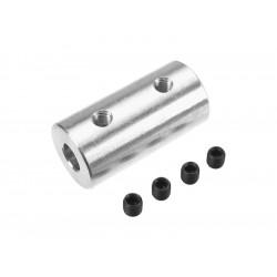 Spojka hřídelí 6.0/4.0mm, prům. 15mm