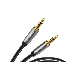 UGREEN stereo audio kabel 3.5mm jack 1m, černý