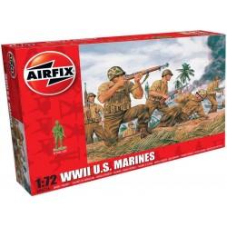 Airfix figurky - WWII US mariňáci (1:72)
