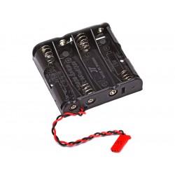 Futaba krabička baterií 4AA plochá