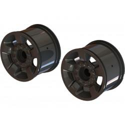 """Arrma disk kola Mt 2.8"""" 14mm černý chrom (2)"""