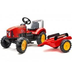 FALK - Šlapací traktor Supercharger červený