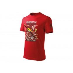 Antonio Civilian - Tričko Extra 300 červené XL