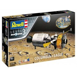 Revell Apollo 11 - Columbia a Eagle (1:96) (Giftset)
