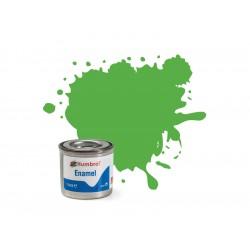 Humbrol emailová barva 37 zářivá zelená matná 14ml