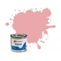Humbrol emailová barva 57 pastelová růžová matná 14ml
