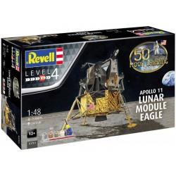 Revell Apollo 11 lunární modul Eagle (50. výročí) (1:48)...