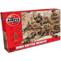 Airfix figurky - WWII britská pěchota (1:72)