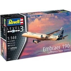 Revell Embraer 190 Lufthansa New Livery (1:144)
