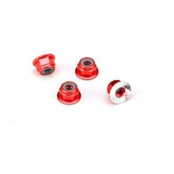Traxxas matice M4 samojistná s límcem červená (4)