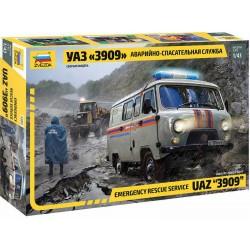 Zvezda UAZ 3909 Emergency Service (1:43)